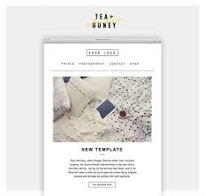 Weekly Newsletter Template Custom Email Newsletter Template Mailchimp Customizable Template Etsy