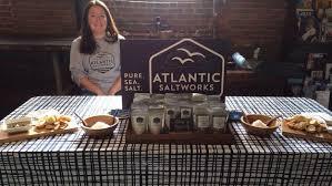 atlantic salt works gloucester salt ladies turning sea water into gourmet product
