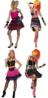 Lovely Ladies 80s Fancy Dress Costumes