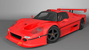 A very fast berlinetta designed by pininfarina, it was built mainly from composites. Obj 1996 Ferrari F50 Gt 3d Model