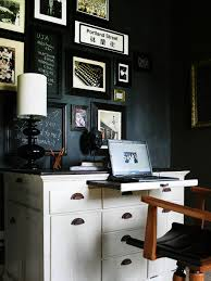 office chalkboard. Contemporary Black And White Home Office Chalkboard