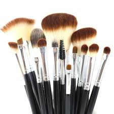 l ensemble noir professional makeup brush set premium 15pcs makeup brushes set professional makeup tools kit