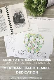 Lds Genealogy Fan Chart Free Meridian Idaho Temple Dedication Come To The Temple