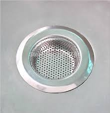 new stainless steel sink strainer stopper kitchen waste view larger