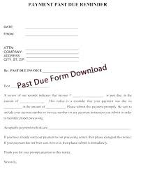 Rent Notice Letter Sample Free Past Due Letter Template Past Due Letter Sample Free Past Due