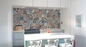 moroccan encaustic tiles patchwork