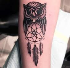 Simple Dream Catcher Tattoos Impressive 32 Dreamcatcher Tattoos For Men Divine Design Ideas