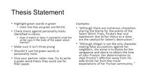 Hamlet thesis statements