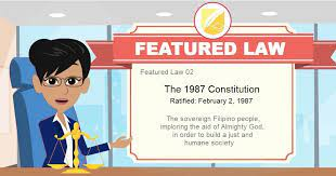 featured law 02 the 1987 consution