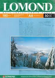 Купить бумагу <b>Фотобумага Lomond A4 180г/м2</b> 25л.,матовая ...