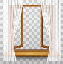 window frame transparent. Delighful Transparent Wooden Window Frame With Curtains On A Transparent Background  Backgrounds  Decorative On