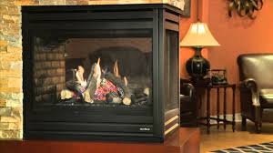 heat glo pier 36tr see through gas fireplace