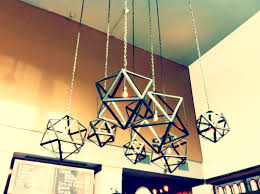industrial chandeliers industrial geometric lighting fixtures