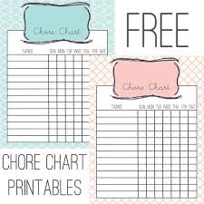 Teenage Chore Chart And App Bilir Opencertificates Co