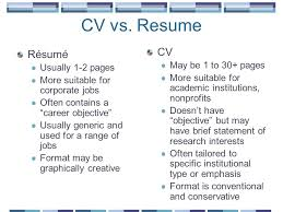Cv Vs Resume Awesome Cv Vs Resume Cv Vs Resume Resume Samples