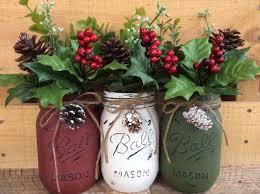 Decorated Christmas Jars Ideas Christmas Mason Jars Decorating Christmas Mason Jar With Bailes 57