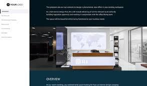 Interior Design Process Checklist This Free Interior Design Proposal Template 19m Of Business
