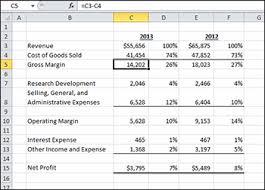 Gross Profit Formula Excel Gross Profit Calculation In Excel Magdalene Project Org