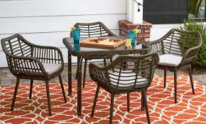 outdoor dining sets for small spaces