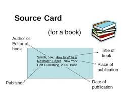 Research Paper Source Mla Source Cards For A Research Paper