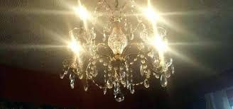 chandelier cleaning spray on crystal cleaner aerosol can