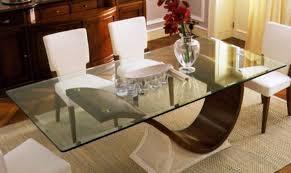 rectangle custom glass table tops li home decor custom glass table tops protection ideas