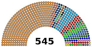 Congress Seating Chart State Of The Union 17th Lok Sabha Wikipedia