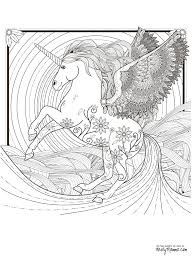 Unicorn Colouring Book For Adults Icrates