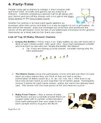 What To Put In A Birth Plan Baby Needs List Template
