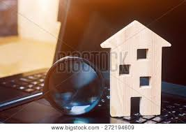 sale property online free house magnifying glass image photo free trial bigstock