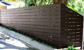 How To Build A Horizontal Wood Fence Designs My Journey