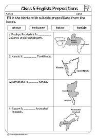 Prepositions for Kids | Prepositions Exercises | Prepositions ...