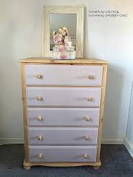 how to wallpaper furniture. How To Refinish Furniture Shabby Chic Fresh 210 Solid Pine Chest Of Draws Sanded Back And Wallpaper T