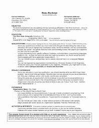 Ohio State Resume Template Best of Resume Volunteer Experience Sample Beautiful Volunteer Resume Resume