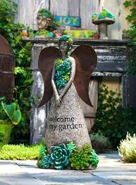 angel garden. Outdoor Garden Angels Stunningly Beautiful Statues Of Fairies And For Your Home Angel Fountains