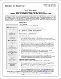 Attorney Resume Magnificent Sample Resume For An Attorney