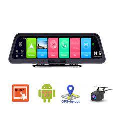 Camera hành trình đặt taplo ô tô cao cấp Phisung Q98 hệ điều hành android  8.1 OS - Hàng nhập khẩu