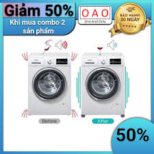 Chống rung máy giặt - 4 miếng cao su 1 2 3 tầng - Kệ máy giặt - Chân đế máy  giặt - Chống ồn máy giặt - Phụ kiện giặt ủi - Phụ kiện giặt ủi