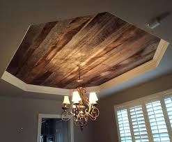 tray ceiling lighting ideas. we installed our barn wood skins on this dining room tray ceiling today those tones and textureswho else is in love lighting ideas c