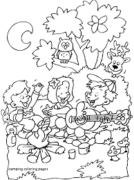 Camping Coloring Pages 12 Free Printable Adult Coloring Pages For