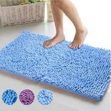 19.7''x31.5'' Floor Mat Bath Carpet Soft Shaggy Chenille Anti slip ...