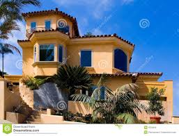 New House Download Beautiful New House On The Hill Stock Photo Image Of Homestead