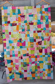Crazy Nine Patch Quilt | Patch quilt, Patches and Stitch & Crazy Nine Patch Quilt by Darci - Stitches, via Flickr/wanna do one of Adamdwight.com