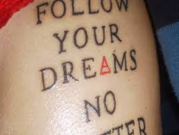 Dream Quote Tattoos Best of 24 Best Tattoo Quotes With Examples