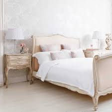 country white bedroom furniture. Delphine French Upholstered Bed By The Bedroom Company For Ultimate Romantic Bedroom. Country White Furniture O