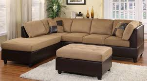 cool sectional couch. Microfiber Suede Sectional Sofas Plant Decoration On The Corner Left Right Arm Loveseat Two Comfortable Looking Cool Couch E