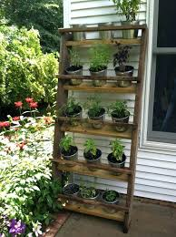 patio herb garden well the hubby made it vertical herb garden patio herb garden diy patio herb garden