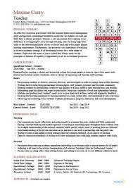 Cv For Teacher Teacher Cv Template Lessons Pupils Teaching Job School Coursework