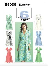 Dress Patterns Inspiration Best Wrap Dress Patterns Sew News