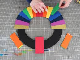 how to make a fast and easy st patrick s day paper wreath how attach paper